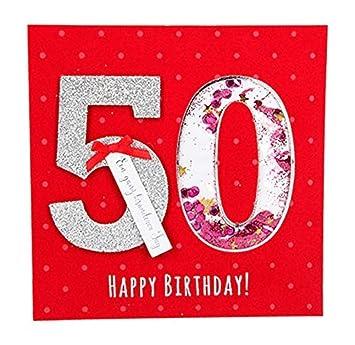 Depesche 8211.005 Tarjeta de felicitación Glamour con ...