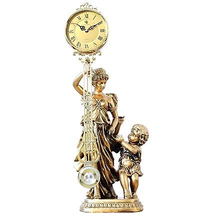 Sunjun Estilo europeo, sala de estar, relojes antiguos, reloj basculante, arte clásico