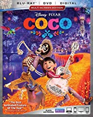 In Disney-Pixar's vibrant tale of family, fun and adventure, an aspiring young musician named Miguel (Anthony Gonzalez) embarks on an extraordinary journey to the magical land of his ancestors. There, the charming trickster Hector (Gael Garci...