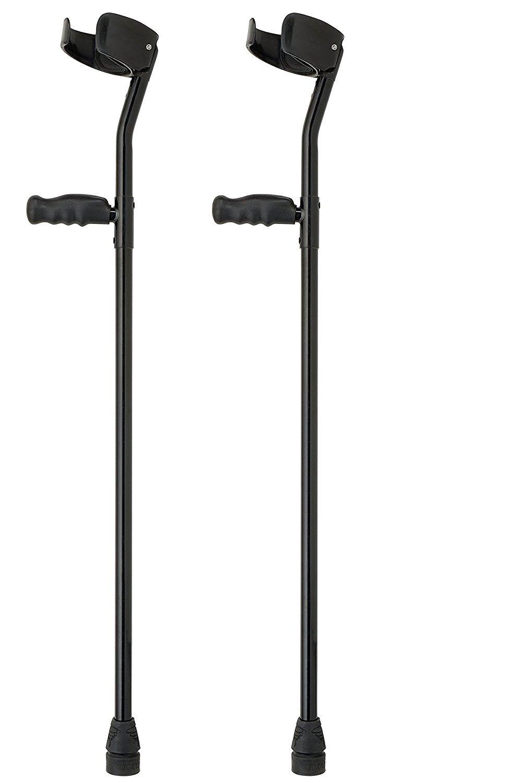 Thomas Fetterman LiteStix Aluminum Custom Forearm Crutches, Customizable