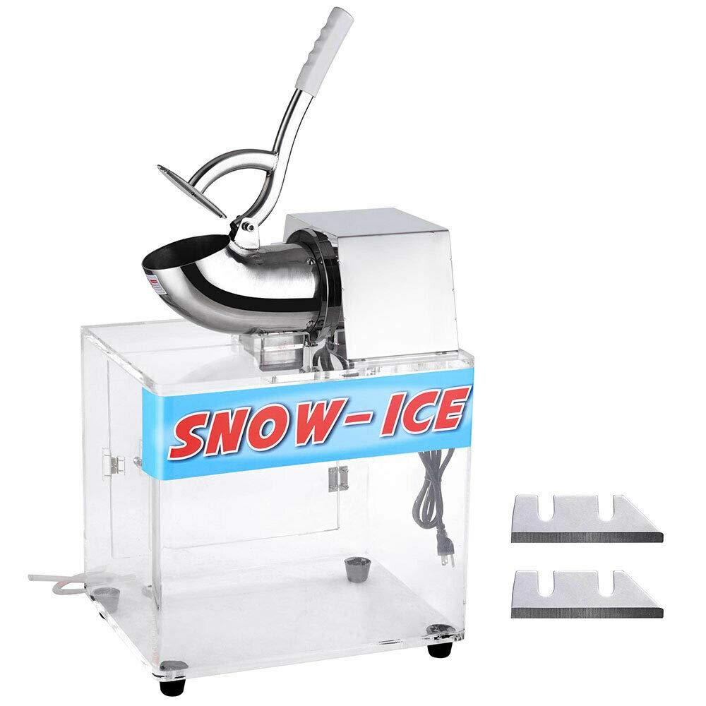 Koval Inc. Electric Snow Cone Maker Ice Shaver Machine Acrylic Box by KOVAL INC.