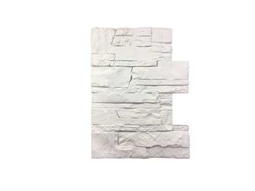 Wandverkleidung in Steinoptik für Küche • Terrasse • Schlafzimmer •  Wohnzimmer   Wandpaneele für mediterrane Wandgestaltung aus Hartschaum    30cm x ...