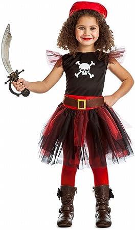 Disfraz Pirata Tutú 5-6-: Amazon.es: Juguetes y juegos