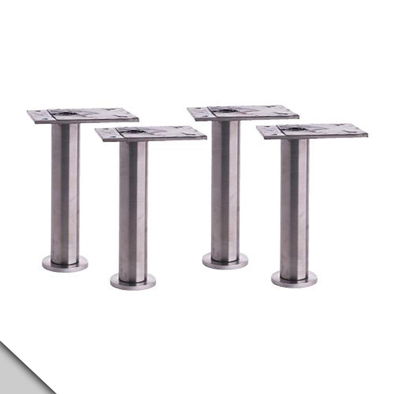IKEA - CAPITA Leg, Stainless Steel 4 3/8-4 3/4'' (X4)