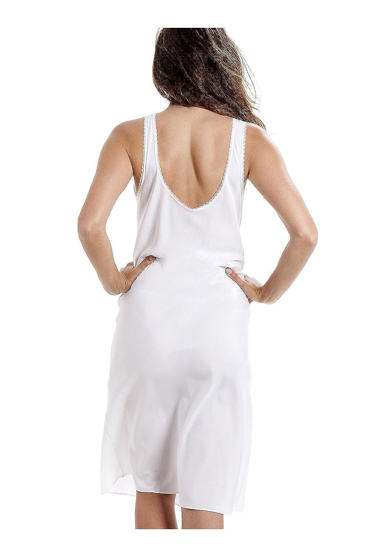 Camicia da Notte Lunga Donna Colore Bianca Taglie 42-56