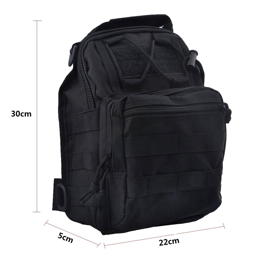 REDGO Sling Bag Chest Shoulder Backpack Crossbody Bags for Men Women Girls Travel Sport Otudoors Business Hiking Gym Cycling Running Casual Daypack for Unisex Adults or Children