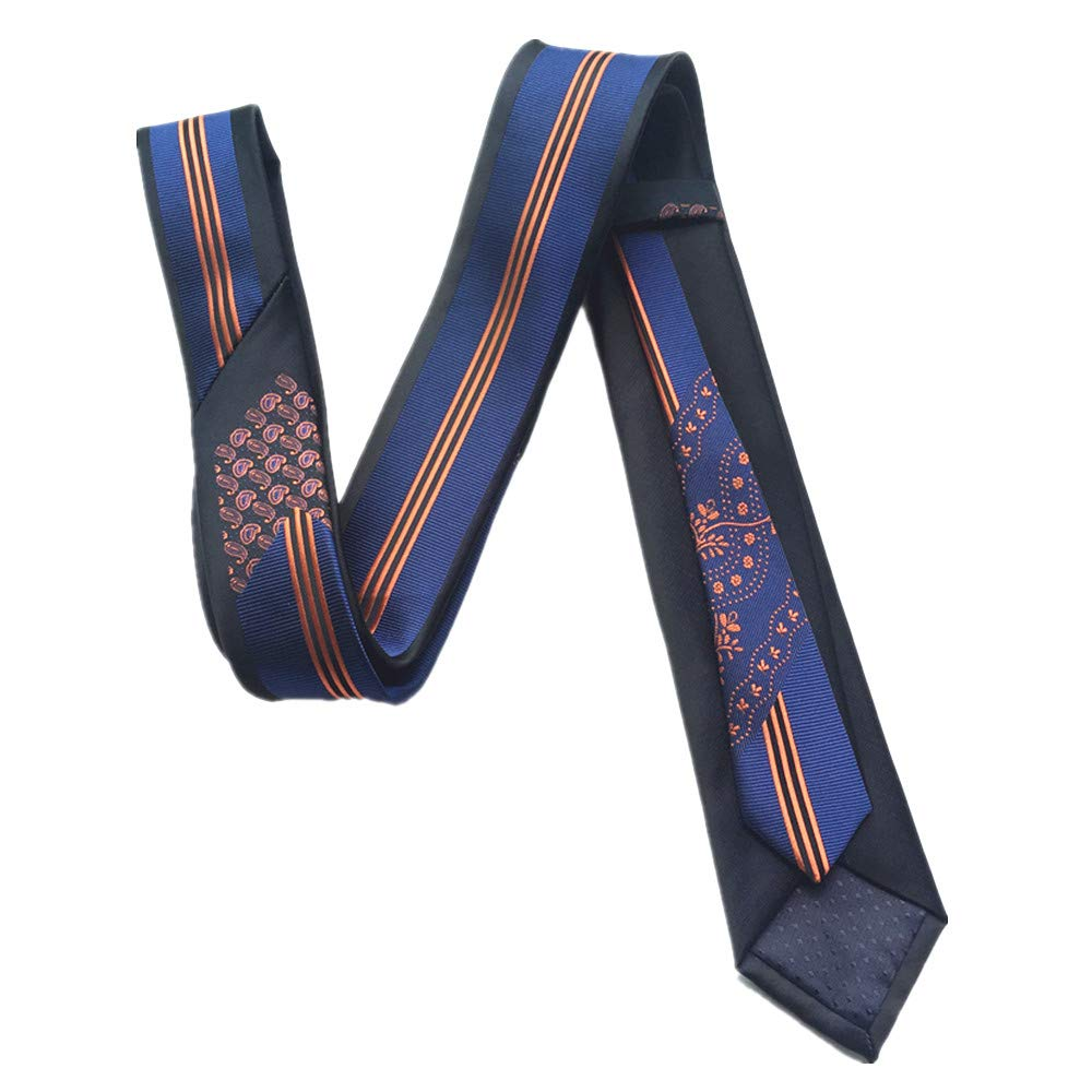Details about  /CityRaider Skinny Floral Ties for Men/'s Cotton Neckties 2.35 Inches for Weddings