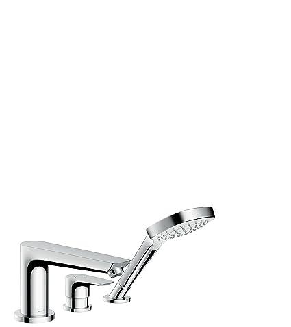Hansgrohe 71730000 Talis E grifería para borde de bañera, cromo