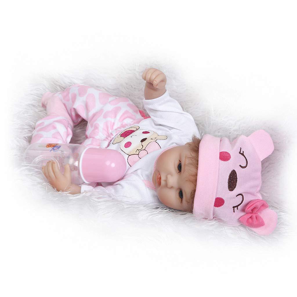 Amazon.com: Hukai - Gorro de silicona para bebé o niña, 15.7 ...