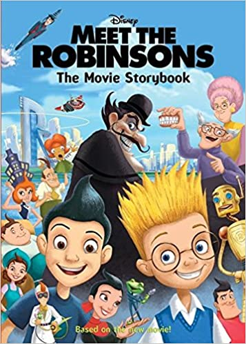 amazon meet the robinsons the movie storybook barbara bazaldua