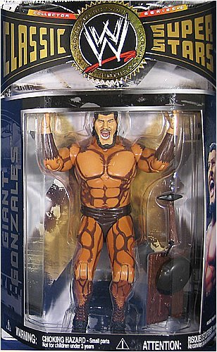 Jakks Pacific WWE Wrestling Classic Superstars Series 16 Action Figure Giant Gonzales
