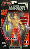 HULK HOGAN - DELUXE IMPACT 4 TNA JAKKS TOY WRESTLING ACTION FIGURE