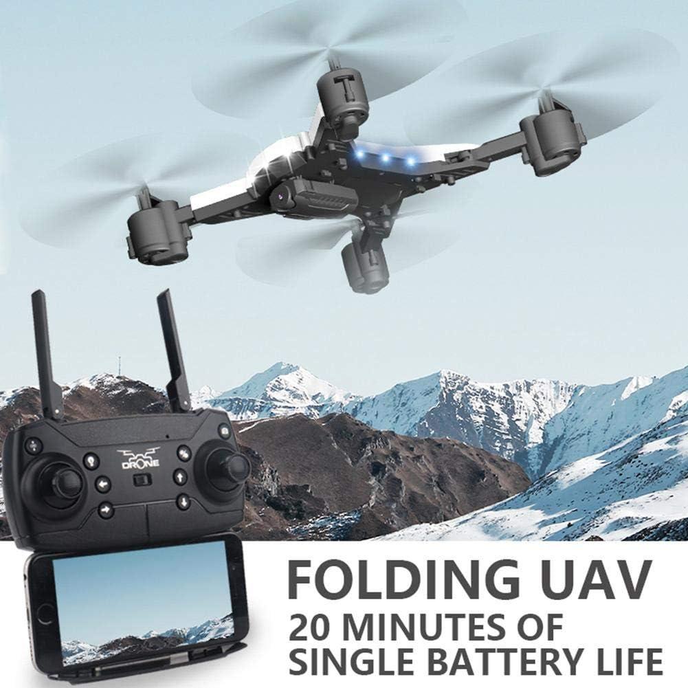 [2020 Mis à jour] KY601S Drone RC, Drone WiFi FPV, Drone pliable avec caméra 4K HD, Live WiFi Flying Aerial Photography Pliage RC Quadcopter pour enfants Adultes Cadeaux Noir