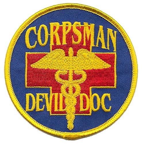 (Corpsman Devil Doc USMC Patch)