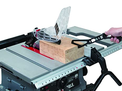 Jobsite table saw with fold and roll stand 10 amazon greentooth Gallery
