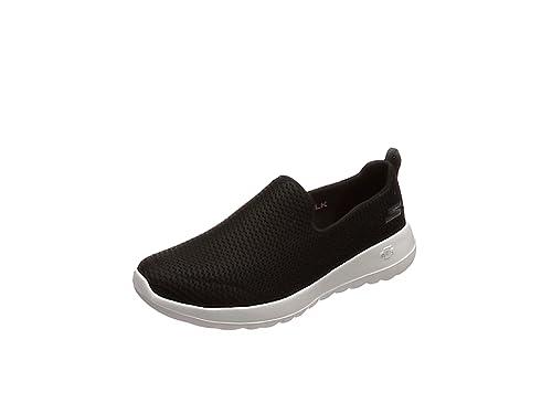 Skechers Damen Go Walk Joy Slip on Sneaker, Schwarz (Black), 37 EU