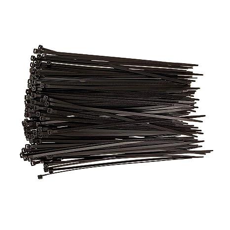 Black Zip Ties >> Dtol 8 Plastic Cable Zip Ties 100 Pack Black