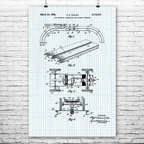 - RC Slot Car Poster Print, Racer Gift, RC Racing, Hobbyist Gifts, RC Touring Car, Hobby Shop, Racing Circuit, Race Track Graph Paper (8
