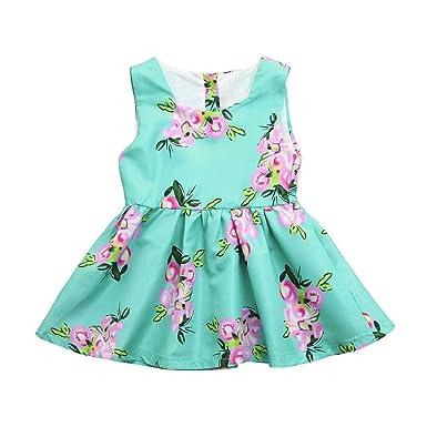 b10204fa4c7f Boomboom Baby Girls Dress Baby Girls Infant Kids Floral Print ...