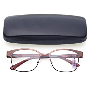 8491bd965e6b Progressive Multiple Focus Reading Glasses Multifocus Glasses Multifocal  Metal Frame Reades (Up+1.50