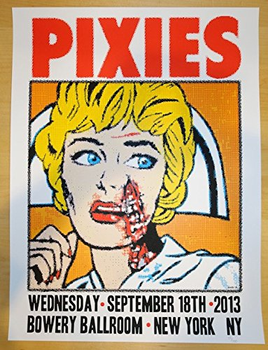 2013 The Pixies - NYC II Concert Poster by Frank Kozik