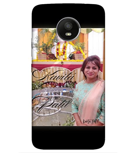the best attitude 6e121 f3129 Personalized Photo Cover for mobile Moto E4 Plus;: Amazon.in ...