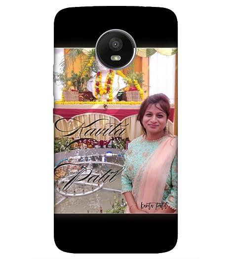 the best attitude ad1aa d5c54 Personalized Photo Cover for mobile Moto E4 Plus;: Amazon.in ...