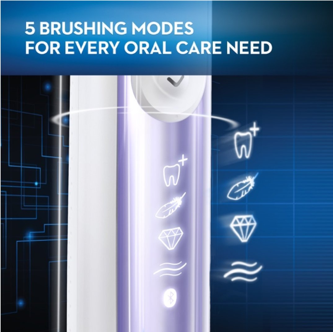 Oral-B Pro 7500 Power Rechargeable Electric Toothbrush, Amazon Dash Replenishment Enabled by Oral-B (Image #6)