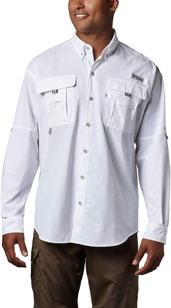 Columbia Sportswear Hombres de Bahama II de Manga Larga, Hombre, Color Blanco, tamaño Large: Amazon.es: Deportes y aire libre