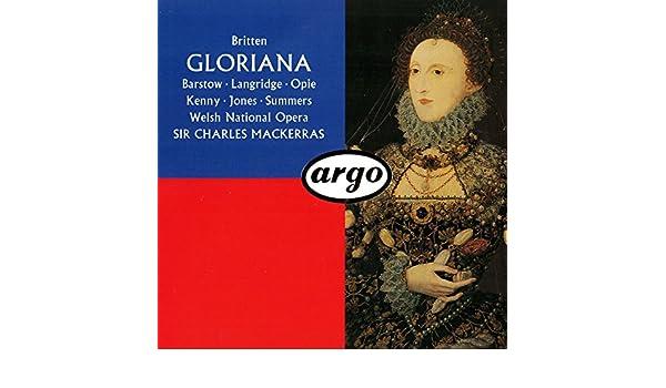 Gloriana: Britten:Mackerras, Barstow: Amazon.es: Música