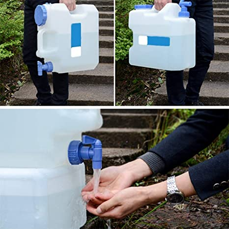 2677f439aa7 Amazon.com   15L Drinking Water Storage Containers with Spigot and ...