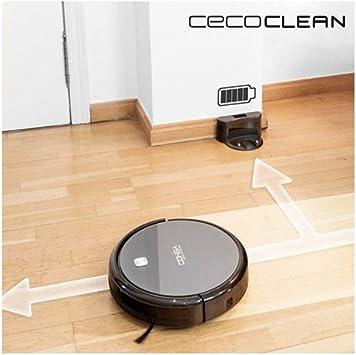 Robot Aspirador con Mopa y Depósito de Agua Cecoclean Excellence 5042 0,3 L 64 db 25W Gris Negro: Amazon.es: Bricolaje y herramientas