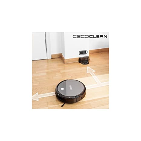 Robot Aspirador con Mopa y Depósito de Agua Cecoclean Excellence 5042 0,3 L 64