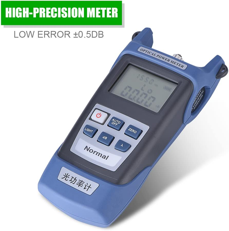 High-Precision Fiber Optical Cable Tester with FC//SC Connector Mugast Fiber Optical Power Meter