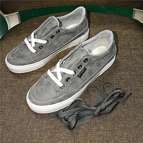 Zapatos de Lona Cálidos Zapatos de Cuero Femeninos Todo Fósforo Negro Pequeño Zapatos Más Zapatos de Cachemira , caqui , EUR35