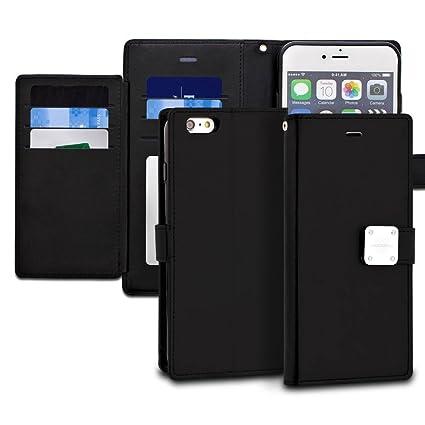 Amazon.com: iPhone 6S Plus caso, modeblu Wallet Case ID ...