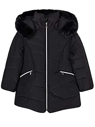 Mayoral 18-04437-078 - Padded Coat for Girls 3 Years Black