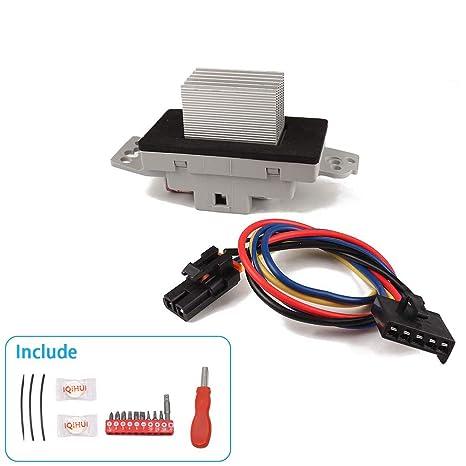 Blower Motor Resistor For JA1639,1711975,52409643,52413530,52495874,1580567