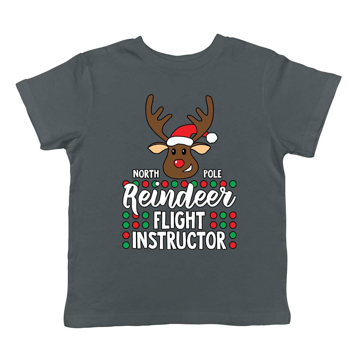 SpiritForged Apparel North Pole Reindeer Flight Instructor Infant T-Shirt