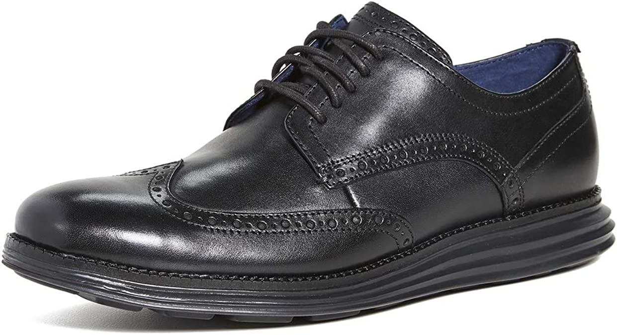 TALLA 40 EU. Cole Haan Original Grand Wingtip Oxford, Zapatos de Cordones Hombre