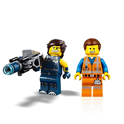 LEGO The Movie 2 Minifigure Combo - Emmet and Rex Dangervest (with Blaster): Toys & Games