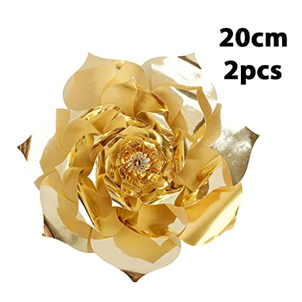 Amazon Com Auntwhale Diy Paper Rose Flowers Rose Paper Flowers