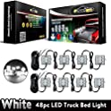 Partsam LED Truck Bed Light 8pods 6-5050-smd