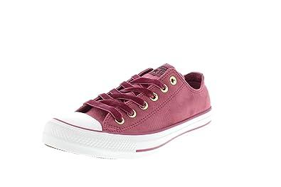 size 40 34675 bb207 Converse Women s CTAS Ox Vintage Fitness Shoes, Multicolour (Vintage  Wine Vintage Wine 507