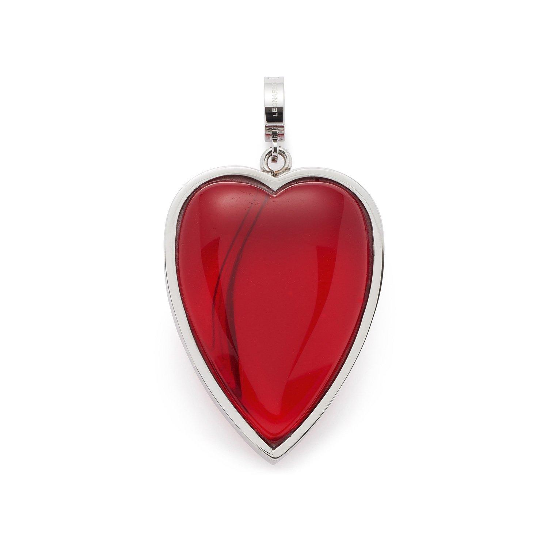 Leonardo Jewels Damen Anhänger Darlin's Amore Edelstahl Glas rot 016416