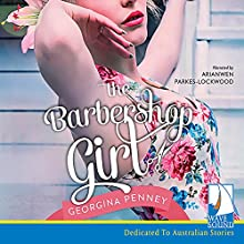The Barbershop Girl Audiobook by Georgina Penney Narrated by Arianwen Parkes-Lockwood