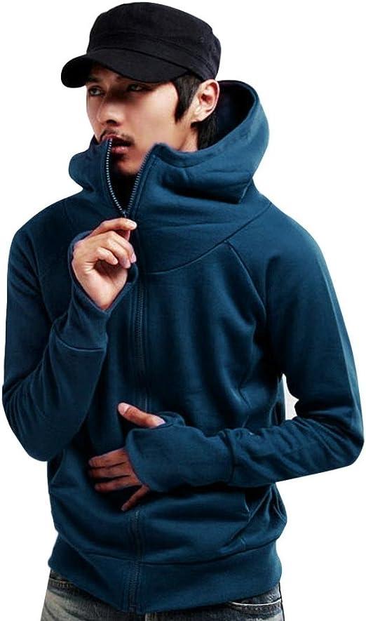 Zulmaliu Hooded Coat for Men