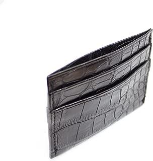 product image for Alligator Card Holder Wallet minimalist slim front pocket wallet