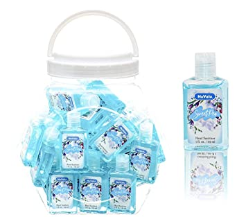 Amazon Com Nuvalu Sweet Pea Antibacterial Hand Sanitizer 1fl