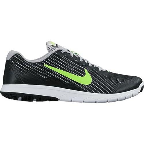 29b190327e2c4 Nike Men s Flex Experience RN 4 (Black FLT Silver White Electric Green